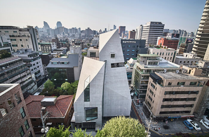 I Tower, Seoul, South Korea, Schmidt Hammer Lassen Architects, Chiasmus Partners
