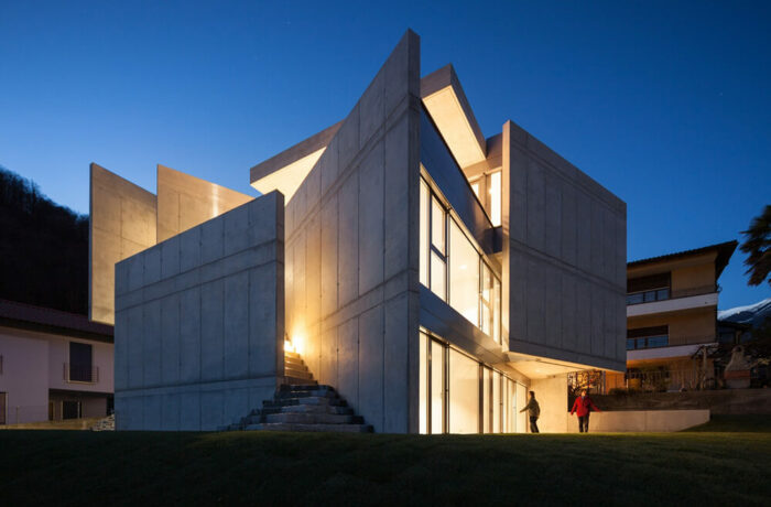 Swisshouse XXXIV Galbisio, Bellinzona, Switzerland, Davide Macullo Architects