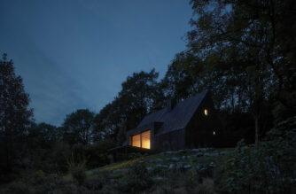Cottage Pod Bukovou, Jiřetín pod Bukovou, Czech Republic, Mjölk Architekti