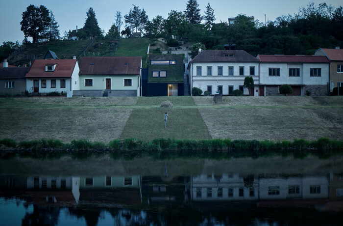 Family House in the River Valley, Znojmo, Czech Republic, Kuba & Pilař architekti