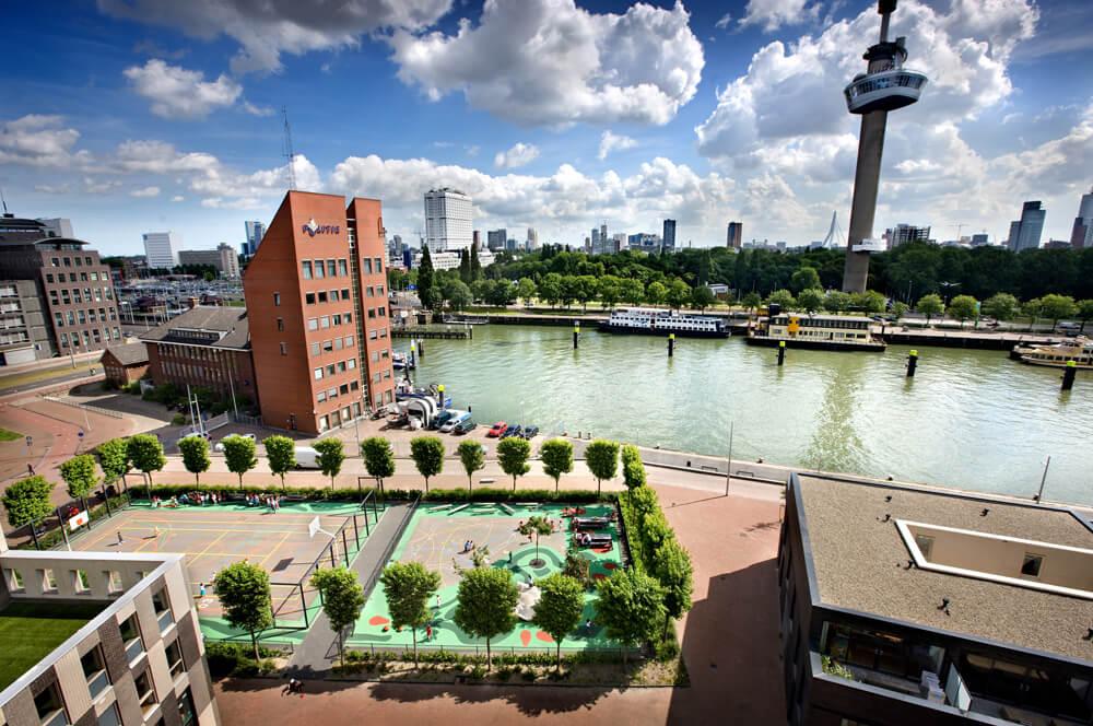 Public Playground, Rotterdam, Netherlands, Bekkering Adams Architecten