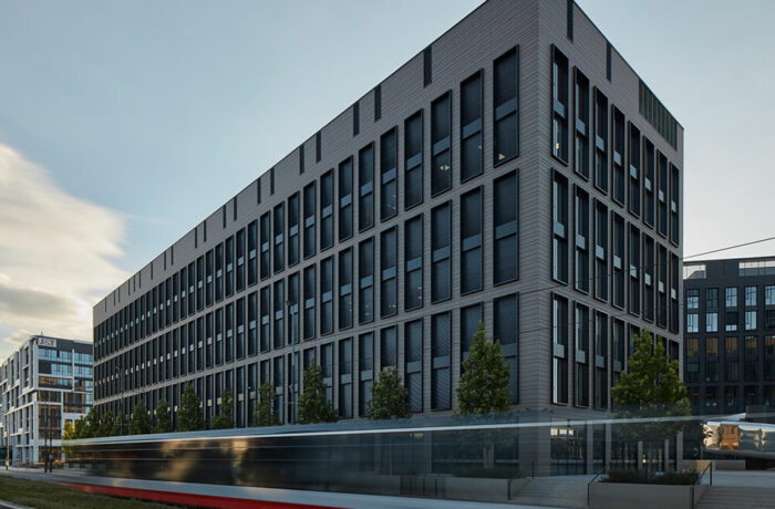 RUSTONKA Office Complex, Prague, Czech Republic, CMC Architects