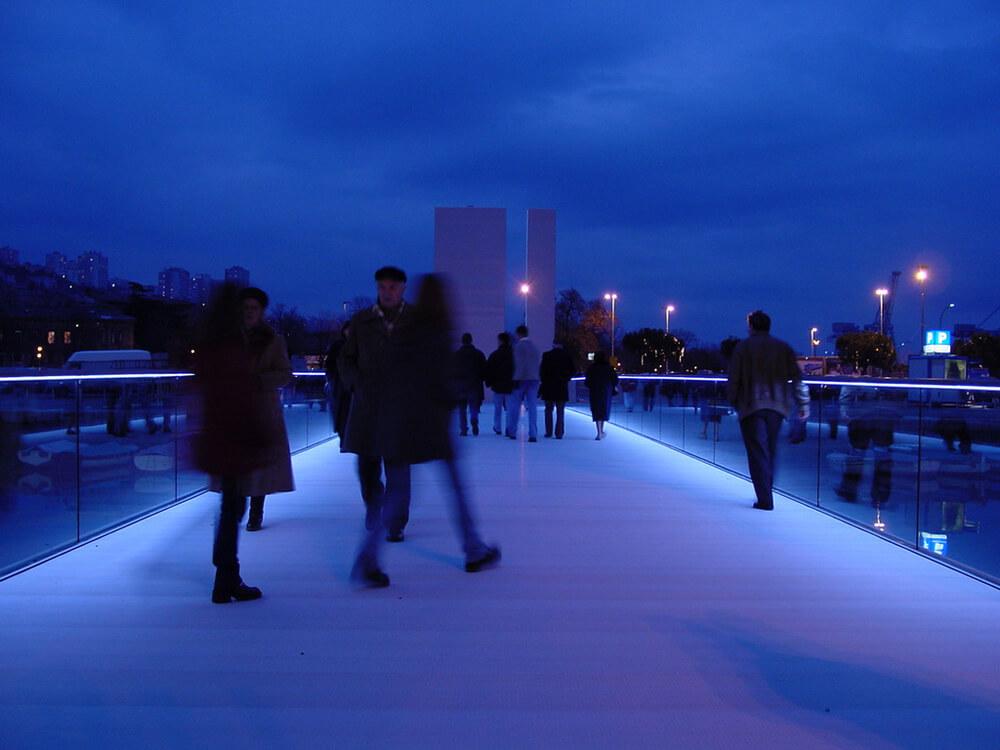 Memorial Bridge Rijeka, Rijeka, Croatia, 3LHD