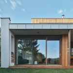 New House in the Old Garden, Černošice, Czech Republic, kaa-studio