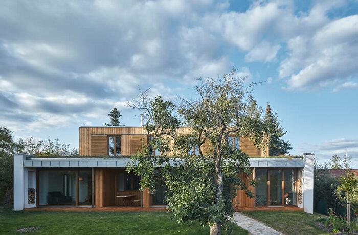 New House in the Old Garden, Černošice, Czech Republic, kaa-studio