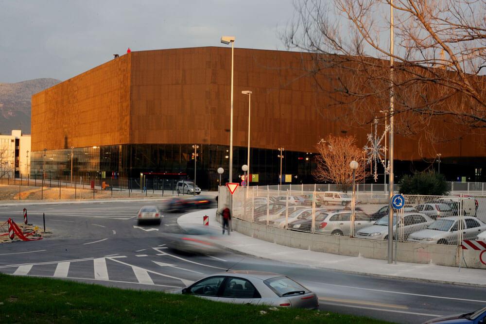 Spaladium Centre, Split, Croatia, 3LHD