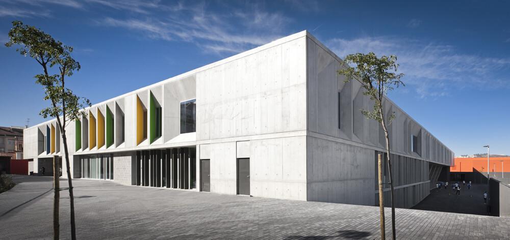 Braamcamp Freire Secondary School, Lisbon, Portugal, CVDB Arquitectos