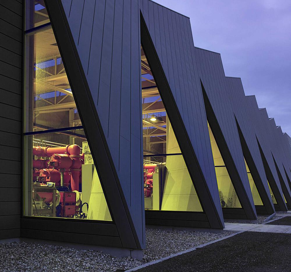 GIS Buildings, Vejen, Denmark, C.F. Møller Architects