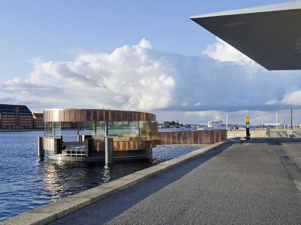 The Opera Pavilion, Copenhagen, Denmark, C.F. Møller Architects