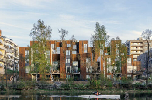 Zenhouses, Stockholm, Sweden, C.F. Møller Architects